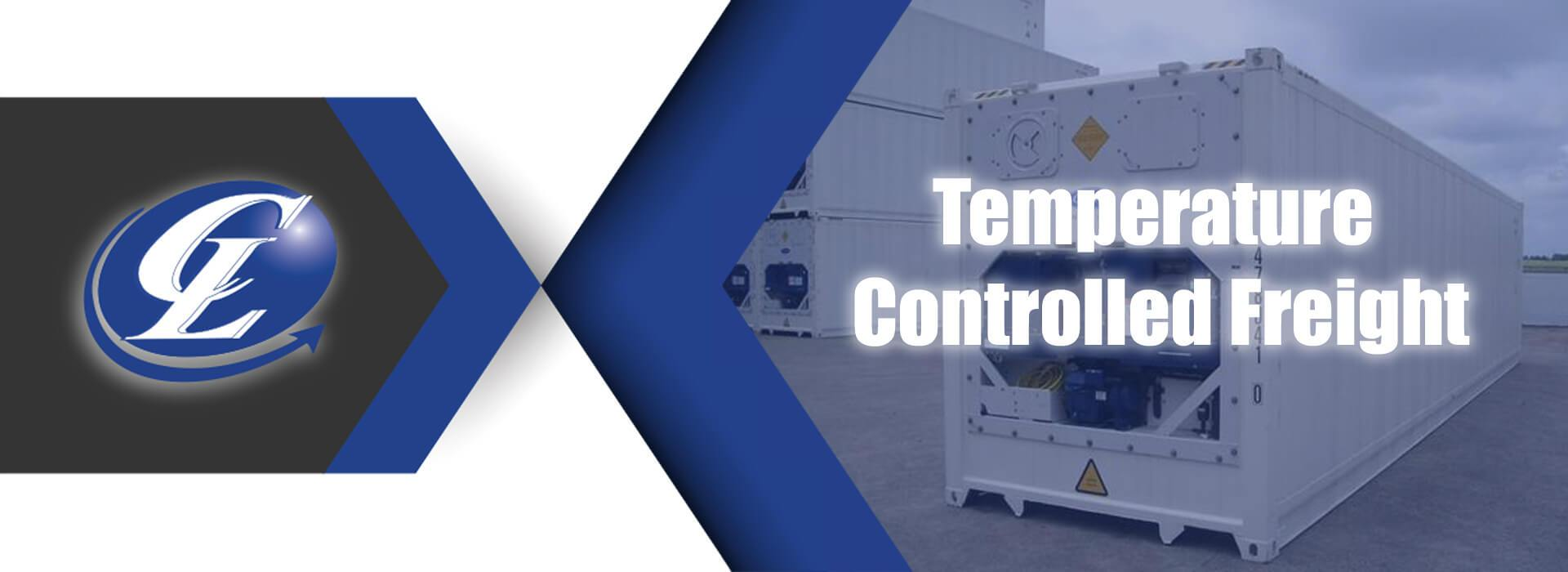 Temperature controlled freight container